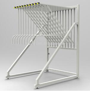 Metal Display Stand Shelf For Carpet Showroom Exhibition Holder