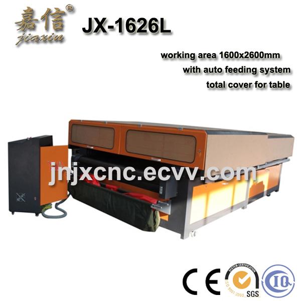 Jiaxin Fabric Laser Carving Machine Jx 1626l Purchasing