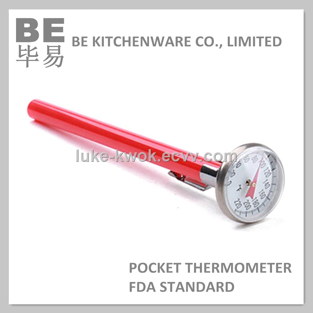 Dial Type Adjustable Bimetal Pocket Thermometer Purchasing