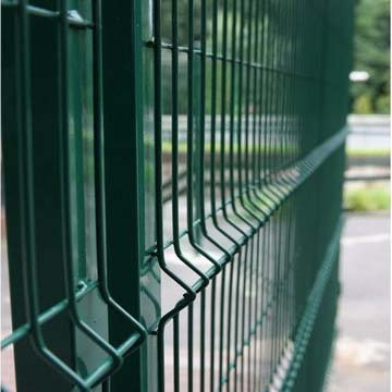 3d Pvc Coated Decorative Bending Wire Mesh Fence