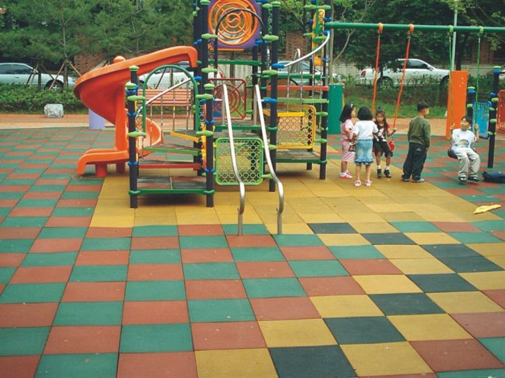 Outdoor Playground Safety Rubber Flooring Tiles Purchasing