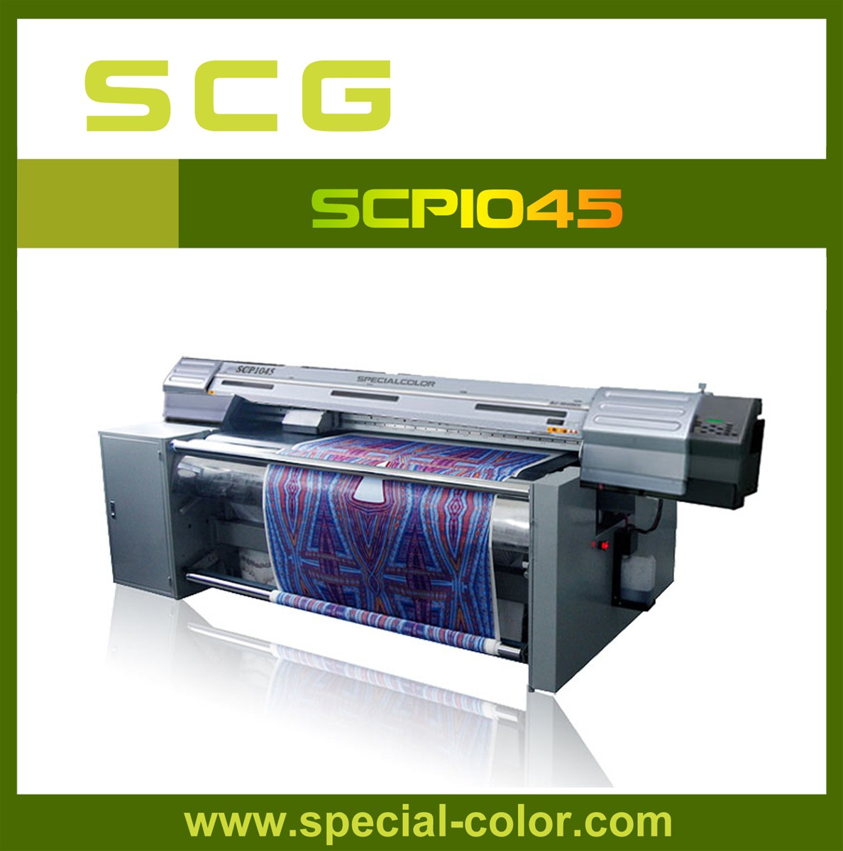 Flatbed Textile Printing Machine Scp1045 Purchasing