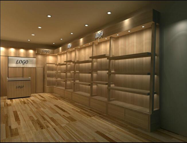 Exhibition Stand Manufacturer : Wooden display showcase rack glass exhibition