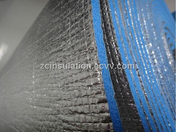 Oof insulation material double sided reflective foil for Fire resistant insulation material