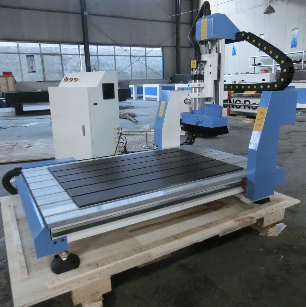 Desktop Cnc Router 6090 With 2 2kw Spindle Motor