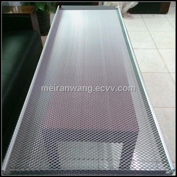 Aluminum Expanded Mesh Ceiling Expanded Mesh Ceiling Panel