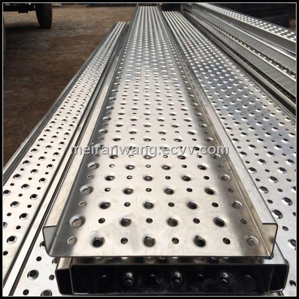 Non Slip Solid Tread Plates Perforated Stair Treads Plates