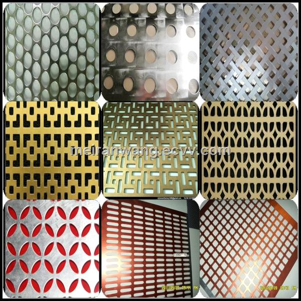Anodized Decorative Perforated Aluminum Sheet From China
