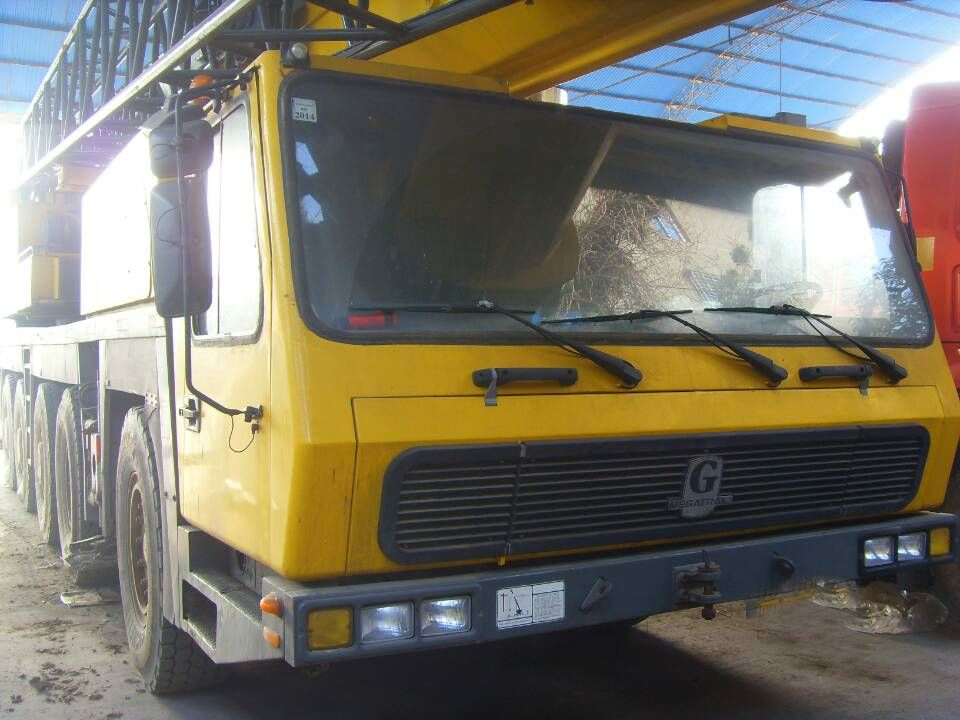 Mobile crane used parts : Used condition grove t mobile crane from usa with