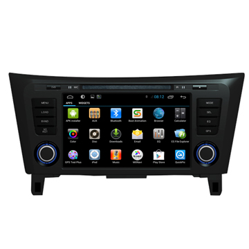 in car dvd player bluetooth nissan x trail qashqai gps. Black Bedroom Furniture Sets. Home Design Ideas