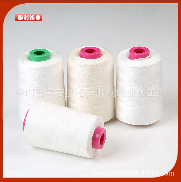 Top fashion sale dyed sewing thread spun