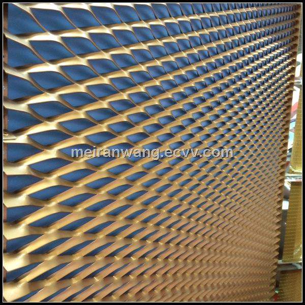 Expanded Metals For Sunshade And Building Facade