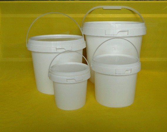 5 kg Plastic Bucket & Barrel for Ice Cream/ Cheese , Accept Customized Size and Design