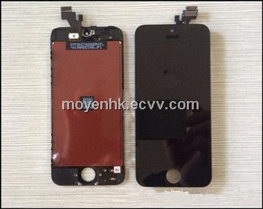 LCD assembly digitizer for iphone 5, replacement LCD digitizer for iphone 5