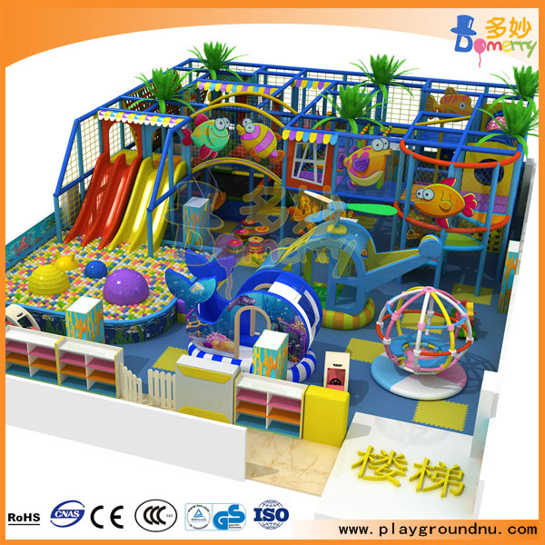 New fashion playground indoor equipment for daycare for Indoor gym equipment for preschool