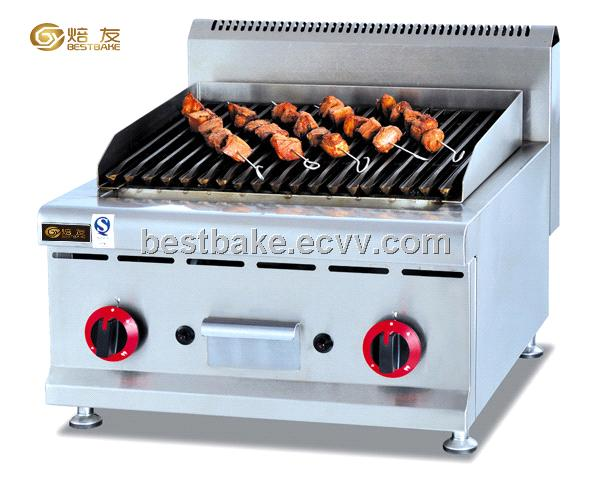 Counter top gas char Grill BY-GB589 (BY-GH589) - China Barbecue Gas ...