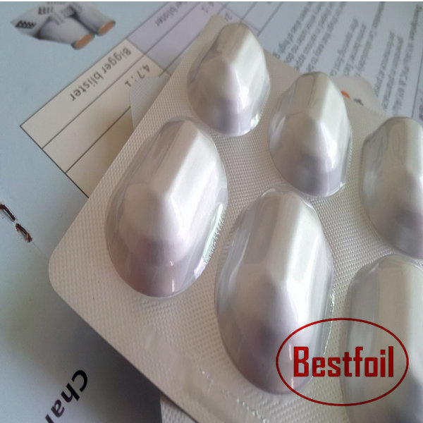 Soft temper pharmaceutical use alu alu foil