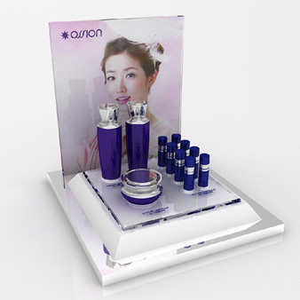 Cosmetic display stand holder