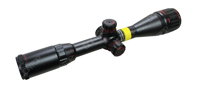 Professional Adjustable 3-9X40aoe Rifle Scope for Shooting Lockable Turrets (RZK/3-9X40AOE)