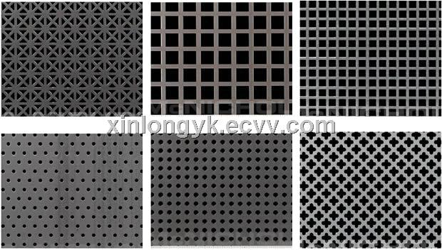 Galvanized Perforated Metal Mesh Punching Hole Mesh