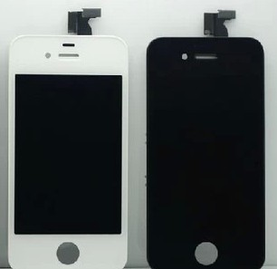 For iPhone 4 4G LCD Display + Touch Screen digitizer + Bezel Frame