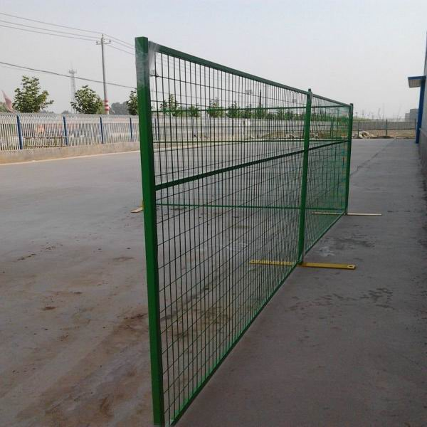 Canada security fencing panels temporary construction