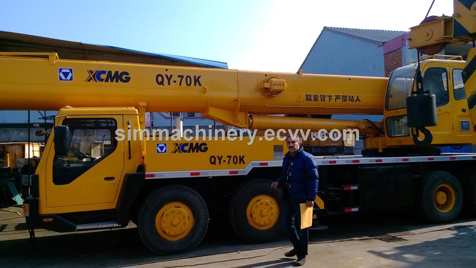 China 70 Ton Crane with Truck Zoomlion Ztc700V - China