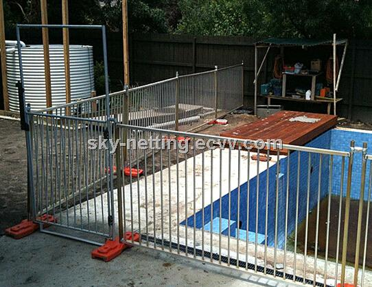 Portable strong temporary swimming pool fence purchasing