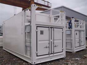 ITS series tank container, double walled fuel storage tank