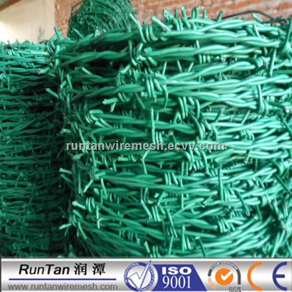 PVC Coated Barbed Wire On Sale