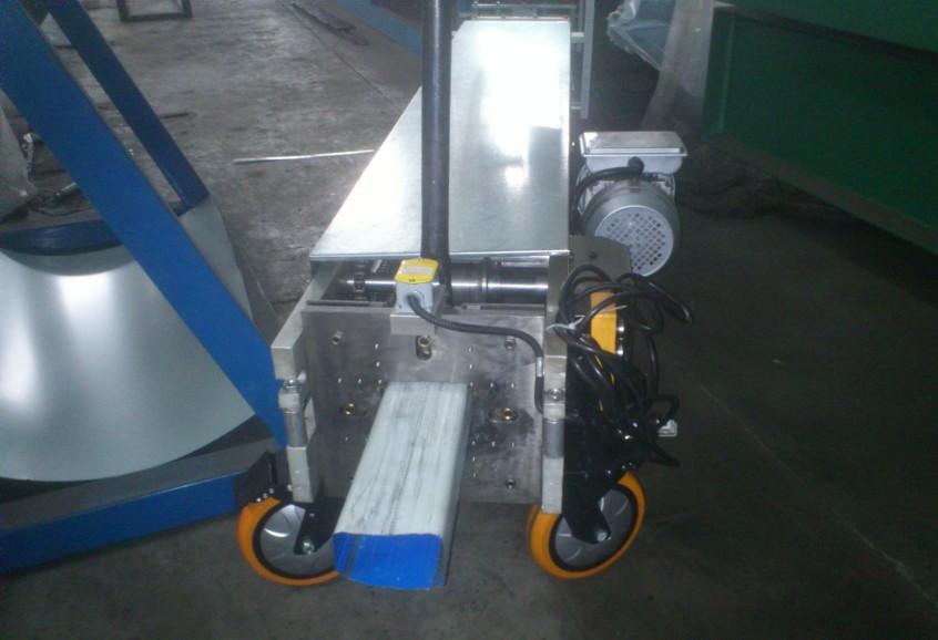gutter downspout machine