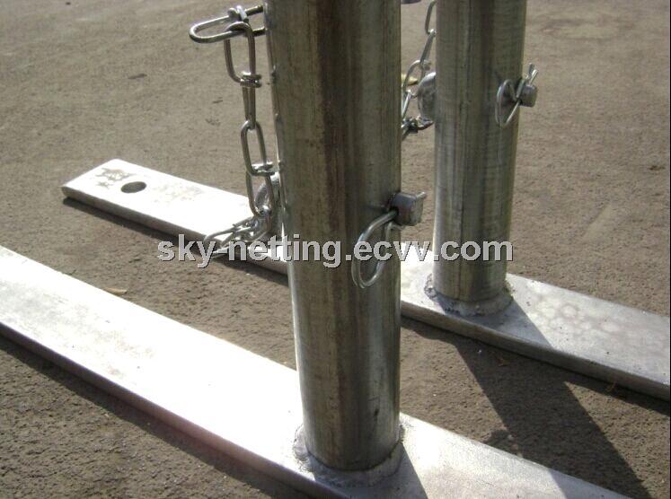 Retractable cheap economic portable temporary steel