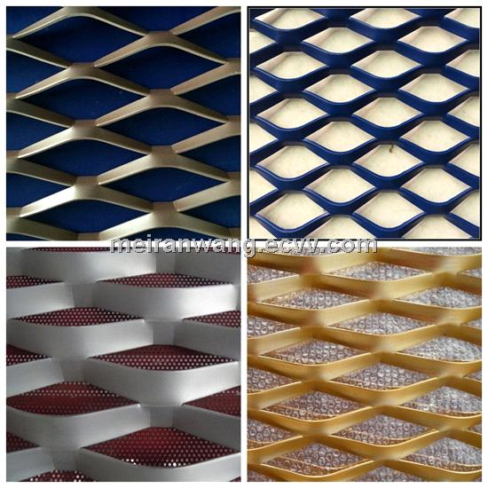 Decorative Aluminum Expanded Metal Mesh Panels From China