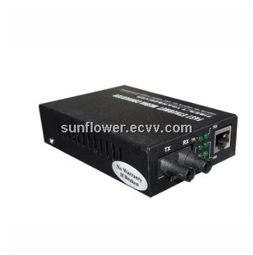ST Multi Mode Media Converter For 1000base Duplex Fiber Transceiver