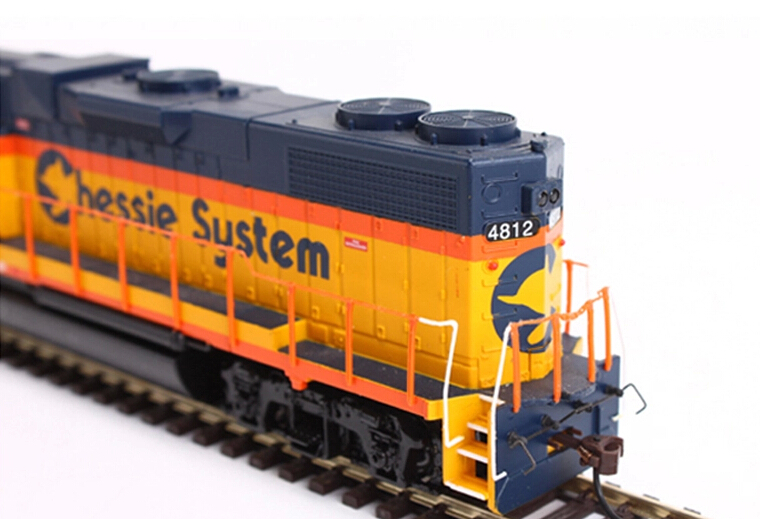 Die-cast Electric Train Model 1/87 4812# HO Scale ...