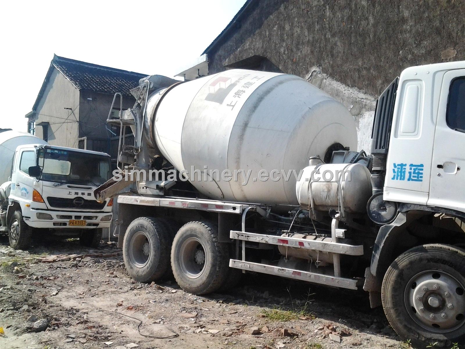 Used japan made isuzu mixer truck second hand concrete for Cement mixer motor for sale