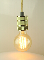China supplier metal chandelier light with edison bulb