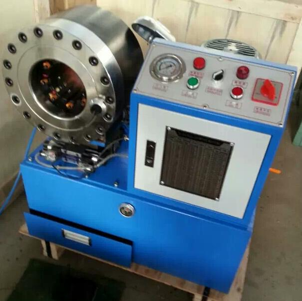 automatic swaging machine