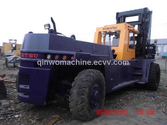 USED Komatsu Wheel Forklift for Sale  (FD45)
