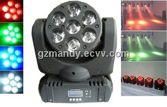 Super Brightness and High quality LED 7*10W 4in1 RGBW Moving Head Beam (MD-B023)