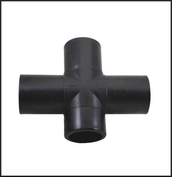 Pe pipe fitting butt fusion cross purchasing