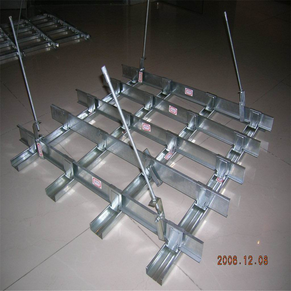 High Strength Light Steel Ceiling Grid Main Channel