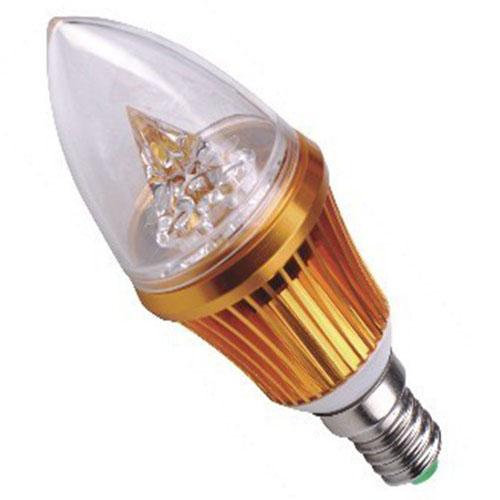 3W LED Candle Lamp Candle Light LED Blub