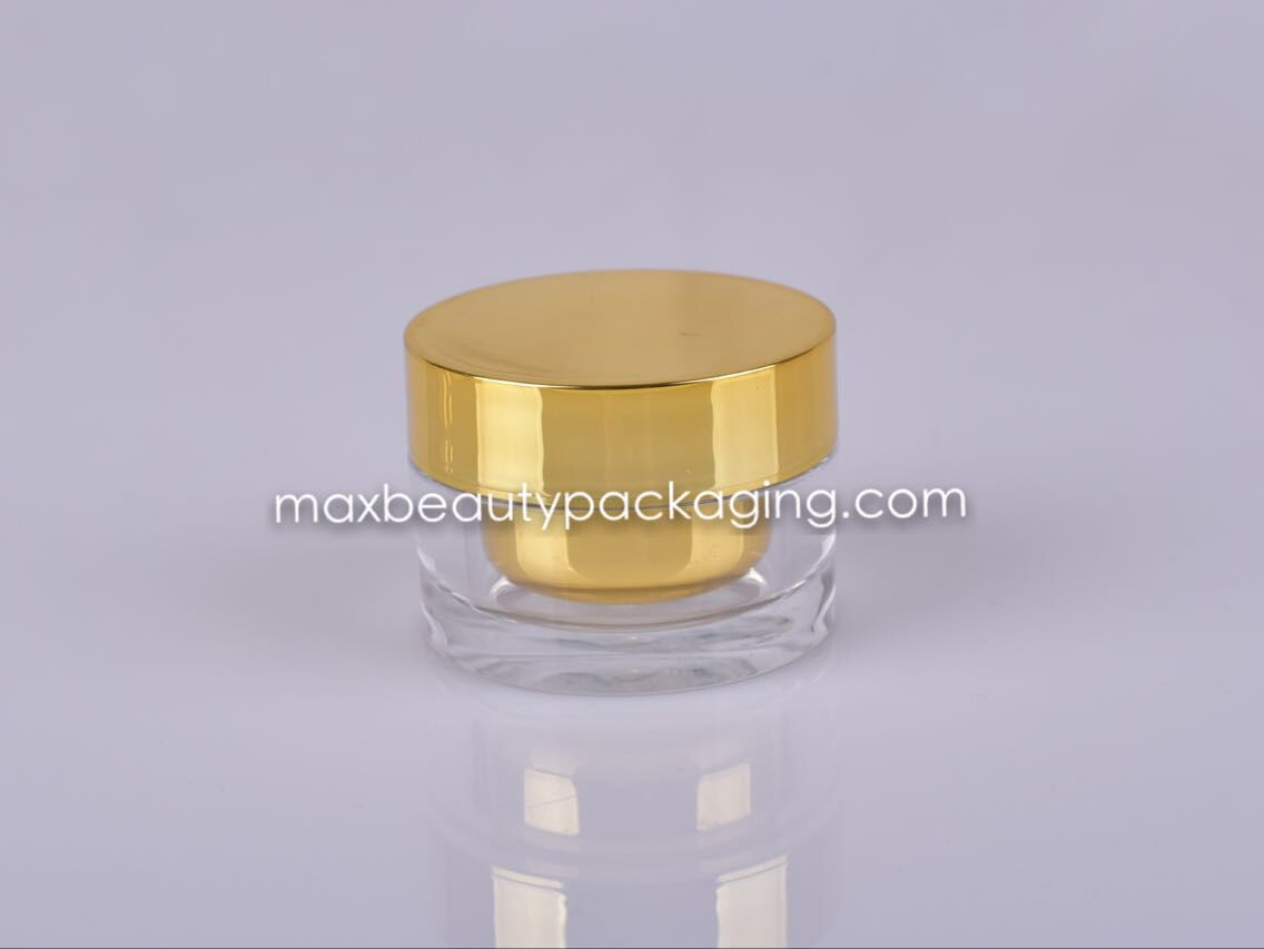 Acrylic cream jar plastic bottle 30g 50g 80g high quality cream jar