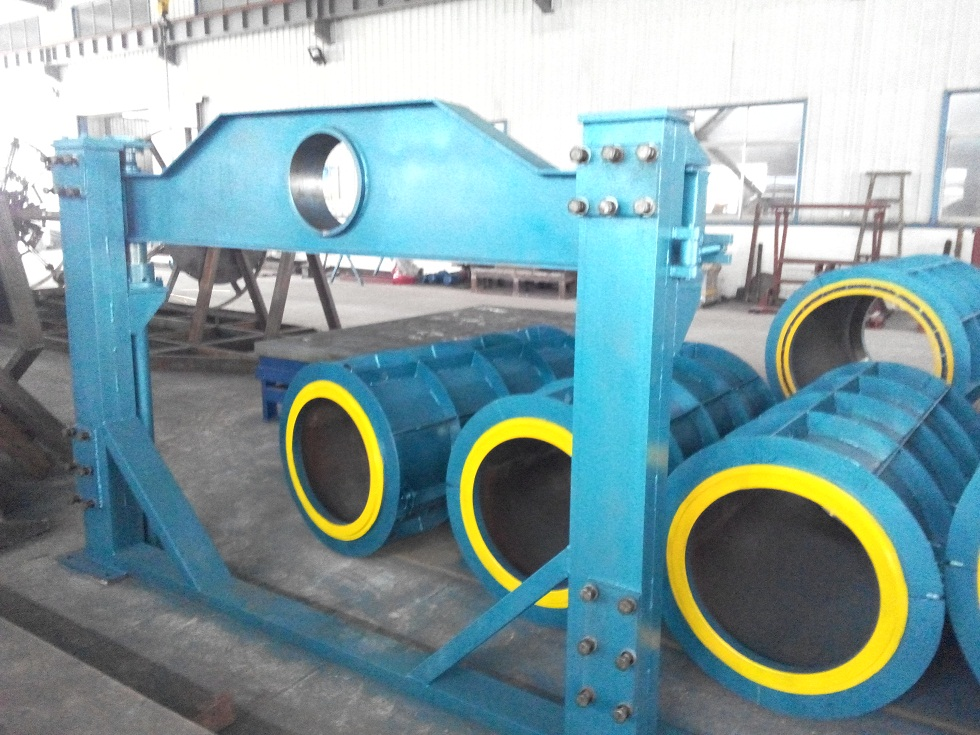 Baolai Reinforced Concrete Pipe Roller Hanging Machine For