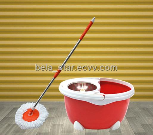 Good quality plastic basket 360 rotating mop