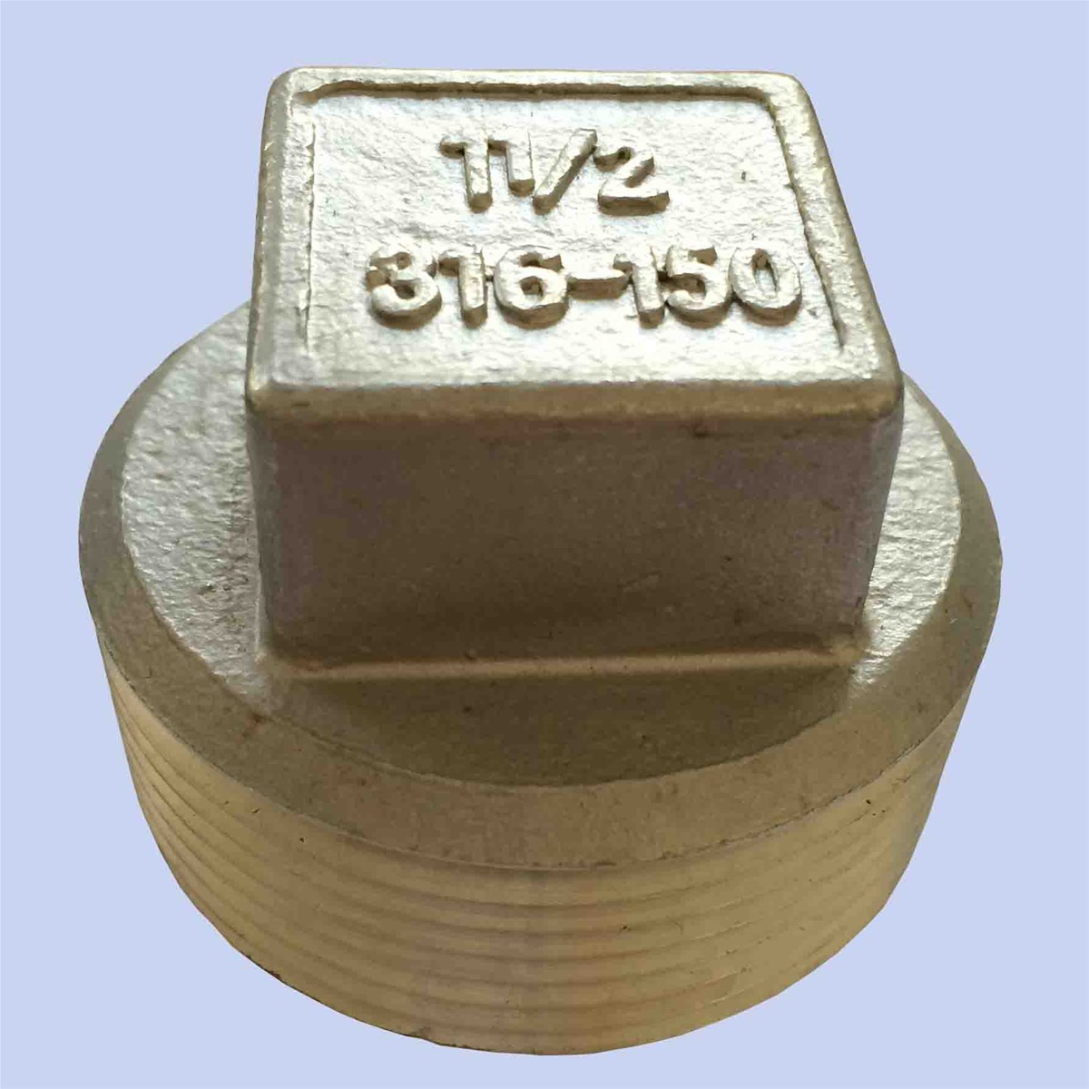 Stainless steel square plug purchasing souring agent