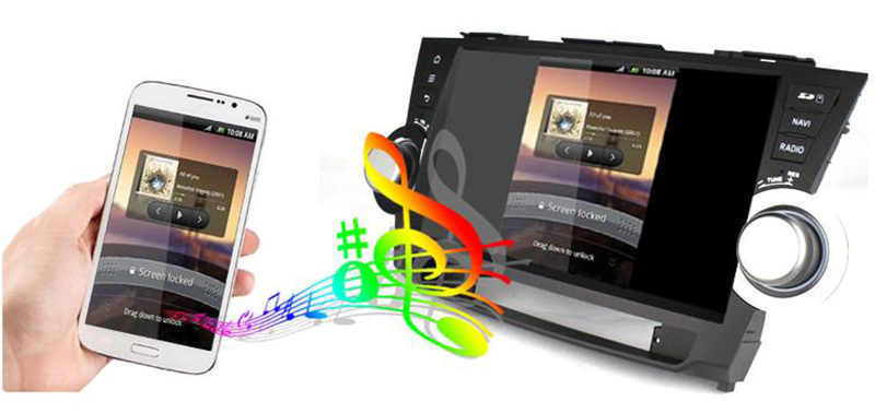 Pure android 4 2 car stereo dvd player cpu 1 6ghz ddr3 1gb memory 8gb - Android 4 4 Car Audio Player With Mirror Link Capacitive