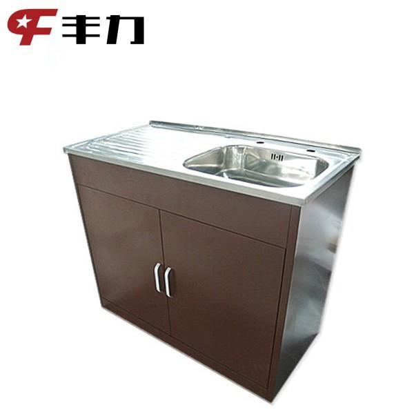 Knockdown Kitchen Cabinets: Knock Down Structure Modern Design Metal Kitchen Cabinet