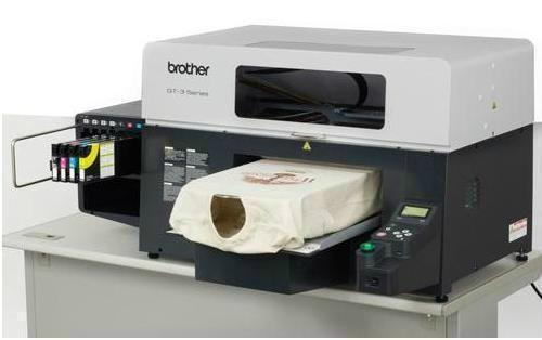 Brother gt 341 dtg direct to garment t shirt digital for Inkjet t shirt printing